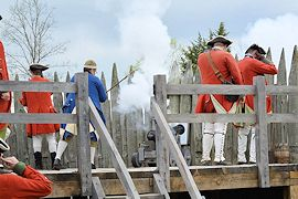 Fort Loudoun French & Indian War Reenactment - Crazy Crow Event Calendar