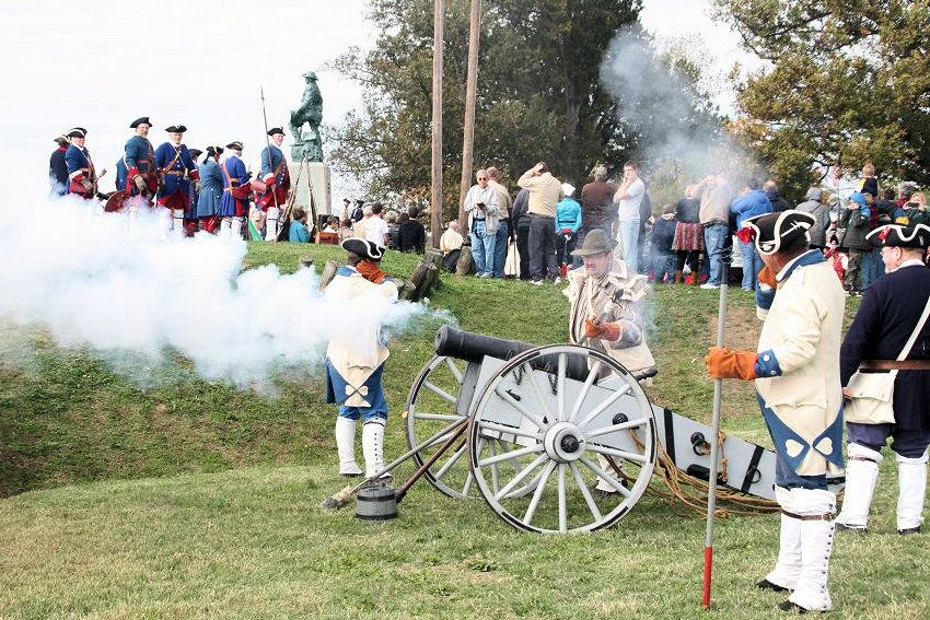 Annual Fort Massac Encampment - French & Indian War - War of 1812
