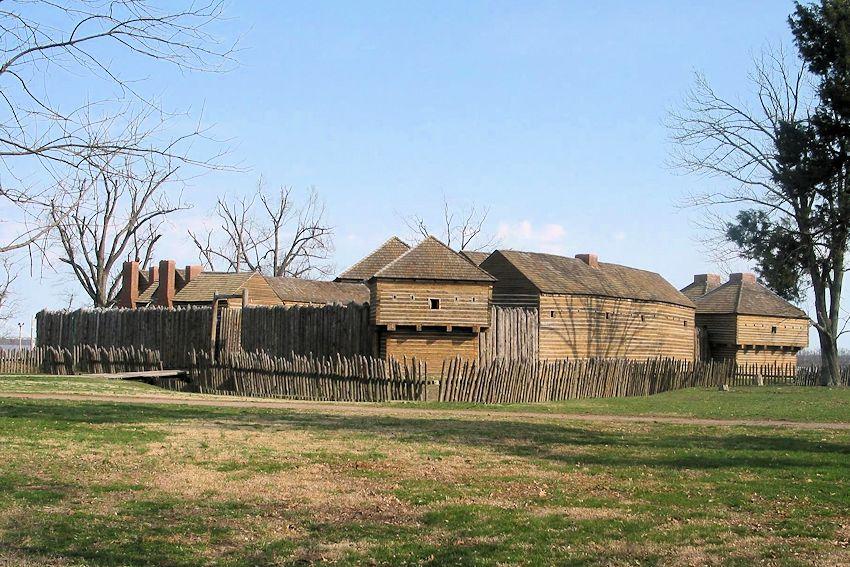 Fort Massac State Park - Annual Fort Massac Encampment - French & Indian War - War of 1812