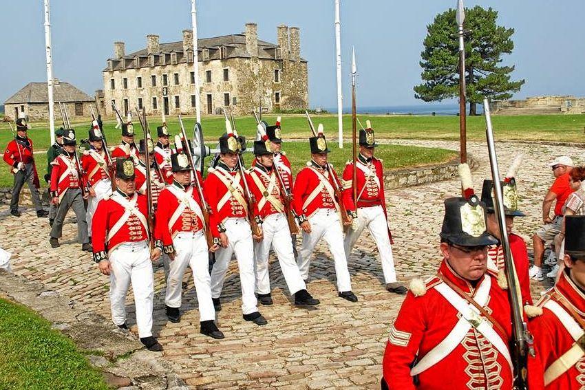 Fort Niagara War of 1812 Encampment - War of 1812 Battle Reenactment