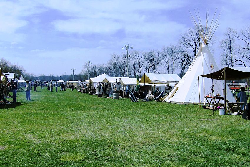 Redbud Trail Rendezvous and Civil War Encampment