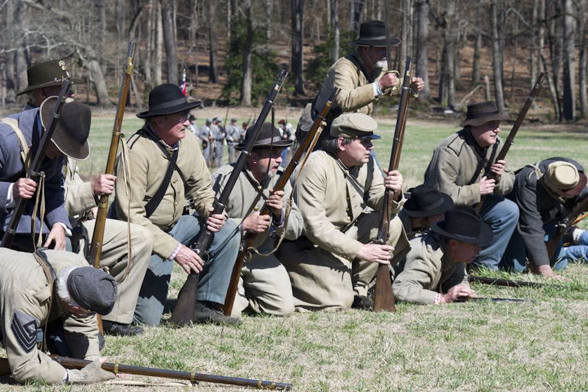 The Skirmish At Gambles Hotel - Rankin Plantation