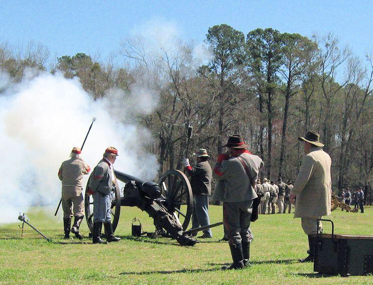 The Skirmish At Gambles Hotel Reenactment - Civil War Reenactment - Florence SC