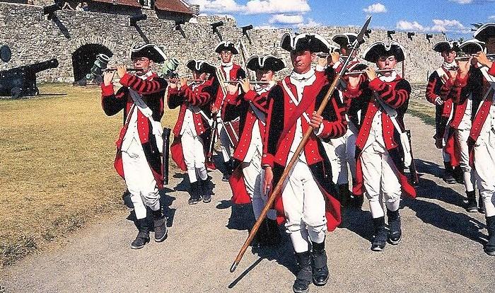 Fort Ticonderoga Fife and Drum Corps - Revolutionary War Reenactments, Crazy Crow Event Calendar