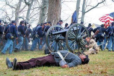Prairie Grove Battlefield Reenactment -Prairie Grove Battlefield State Park