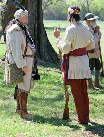 Fur Trade Rendezvous at Fort Washita Historic Site - Fort Washita Rendezvous