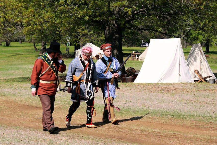 Fur Trade Rendezvous at Fort Washita Historic Site - Fort Washita Rendezvous