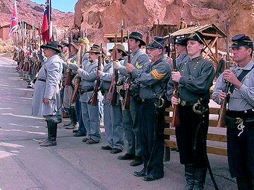 Calico Ghost Town Civil War Reenactment - American Civil War Society