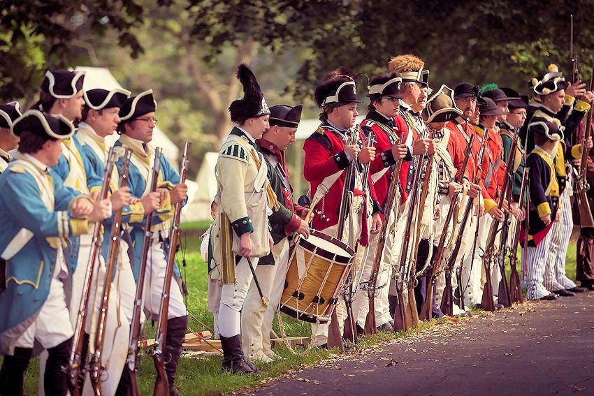 Cantigny Revolutionary War Reenactment - North West Territory Alliance - Cantigny Park