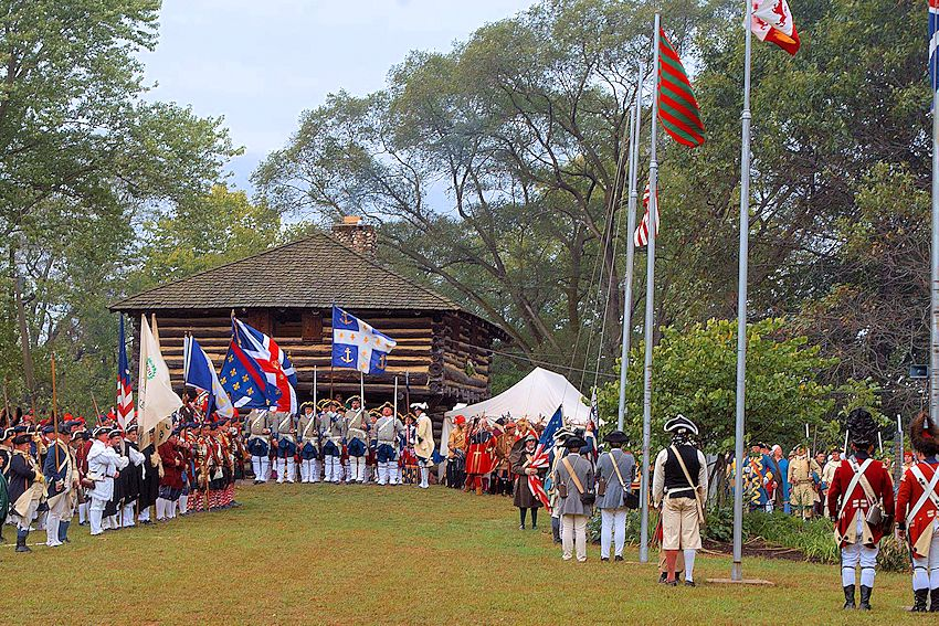 Feast of the Hunters Moon - Fort Ouiatenon Park - Tippecanoe County Historical Association