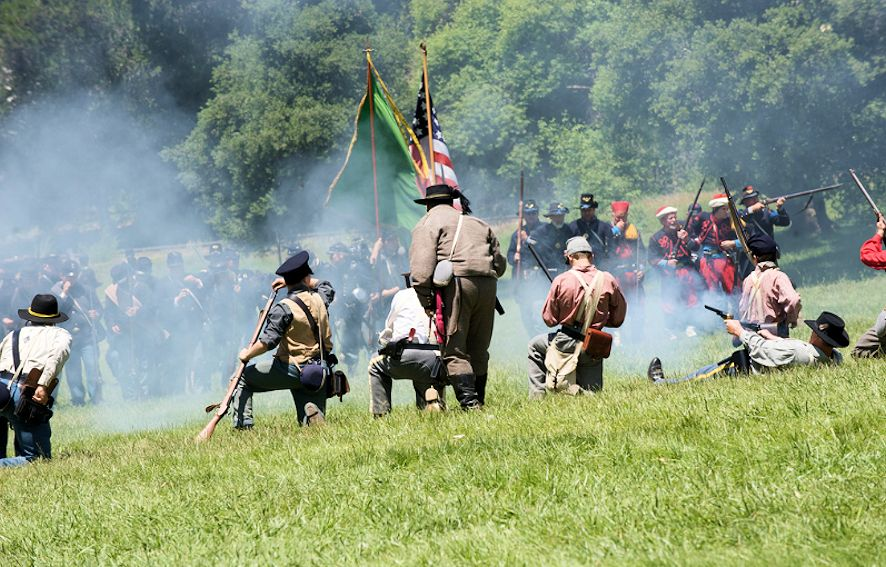 Roaring Camp Civil War Battles and Encampment - Roaring Camp Railroads
