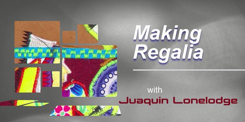 CATV Show Making Regalia with Juaquin Lonelodge