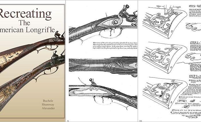 Recreating the American Longrifle, Buchele, Shumway, Alexander - Crazy Crow Trading Post
