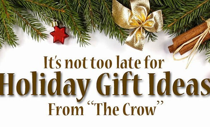 Crazy Crow Christmas Enews December 7 2016 - Holiday Special Offers