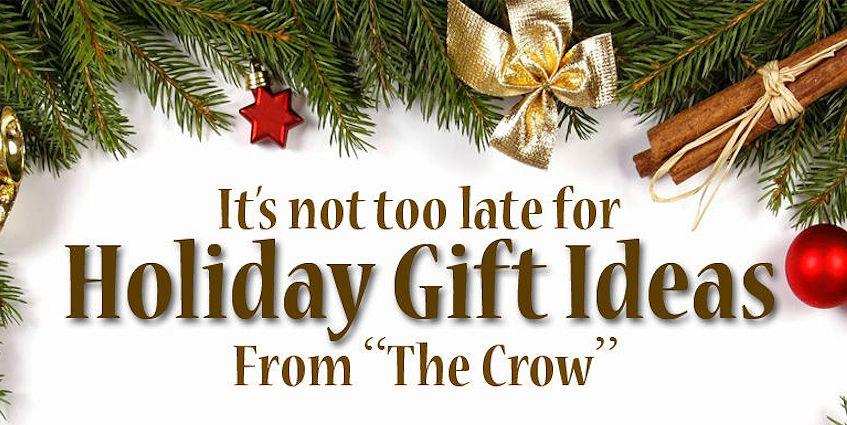 Crazy Crow Christmas Enews December 7 2016 - Holiday Special Offers