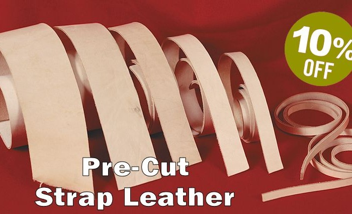 Pre-Cut Strap Leather Sale - Crazy Crow Trading Post