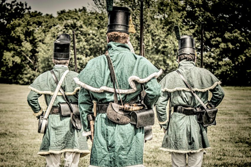 Fort Atkinson Living History Weekend in June