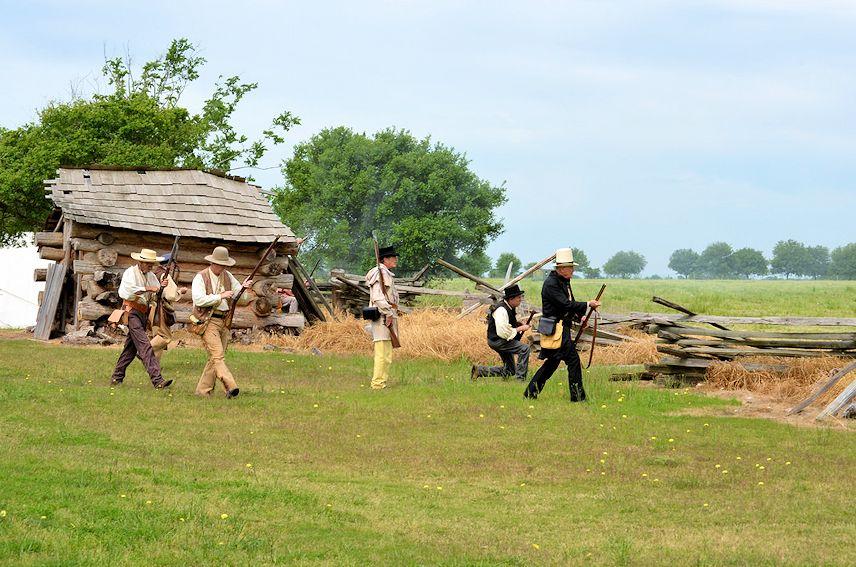 George Ranch Runaway Scrape Reenactment - George Ranch Historical Park