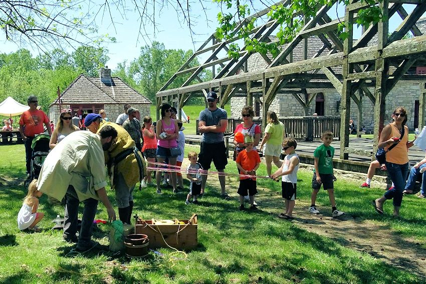 Kids Day at Fort de Chartres