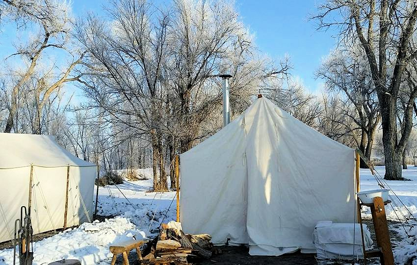 Frozen Toes Rendezvous - Tallow River Trappers - South Platte Valley Historical Society - South Platte Valley Historic Park