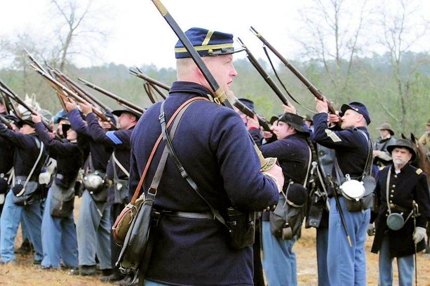 Battle of Aiken Reenactment - South Carolina Civil War Heritage Trails - Battle of Aiken Reenactment Site
