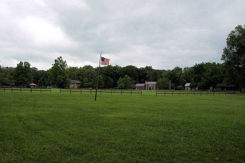 Civil War Union Training Camp at Caesars Creek Pioneer Village