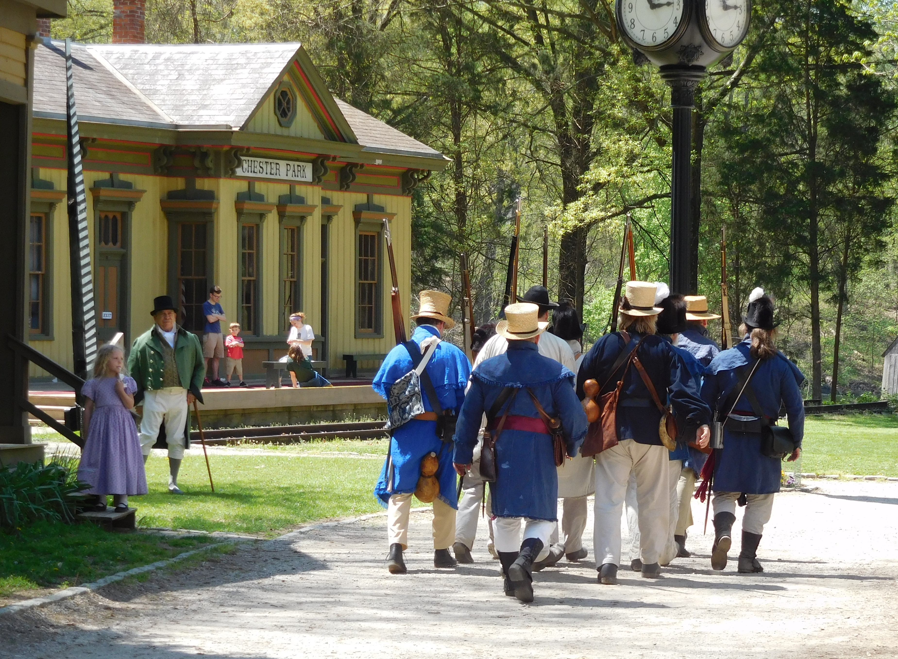 Spring in Early Cincinnati: An 1803 Muster and Social - Heritage Village Museum