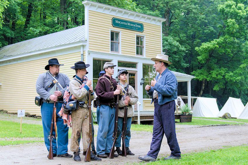 Heritage Village Museum Civil War Weekend - Sharon Woods Park