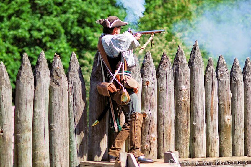 Siege at Fort Watauga - Friends of Sycamore Shoals State Historic Park - Sycamore Shoals State Historic Park - Washington County Regiment of North Carolina Militia
