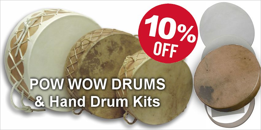 Save 10%  - Pow Wow Drums