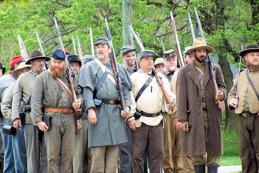 Buchanan Civil War History Weekend - Downtown Buchanan - Town of Buchanan