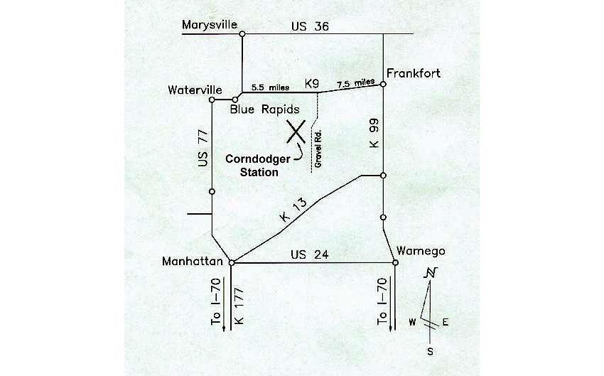 Corndodger Station Range