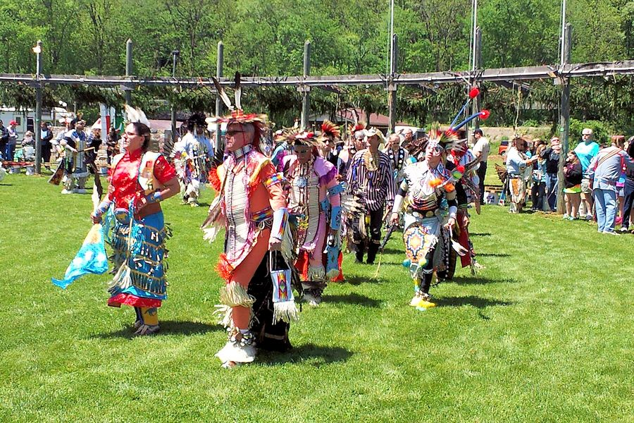 De-Un-Da-Ga Memorial Day Powwow - Custaloga Town Scout Reservation - Langundowi Lodge
