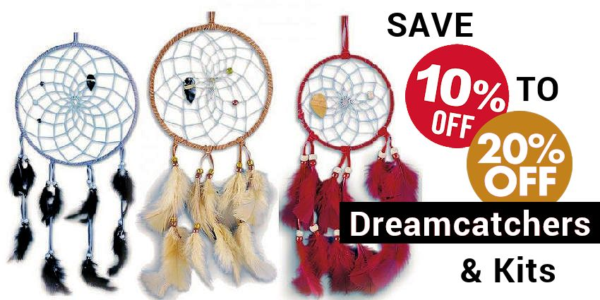 Save 10% - 20% - Dream Catchers & Kits