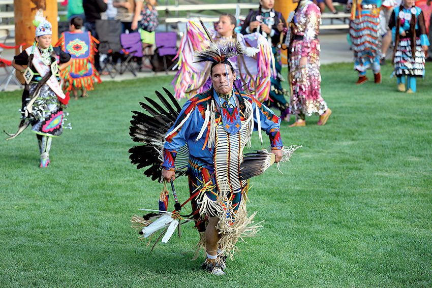 Grand Ronde Contest Powwow - Confederated Tribes of Grand Ronde - Uyxat Powwow Grounds