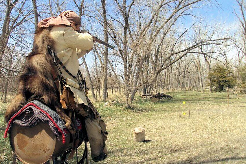 Kansas-Nebraska Rendezvous - Pawnee Free Trappers Spring Rendezvous - Pawnee Free Trappers Club Range