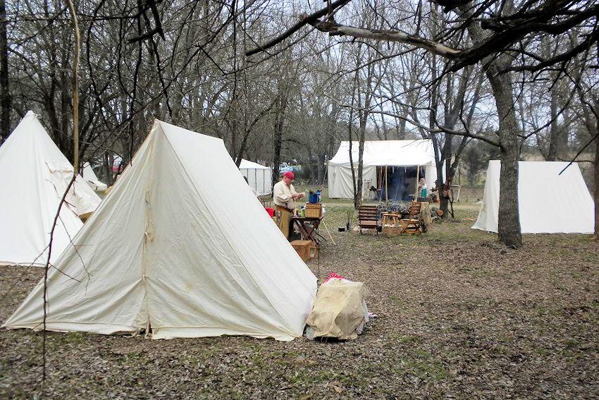Ranger Springs Skinners Spring Rendezous - Ranger Springs Skinners Camp