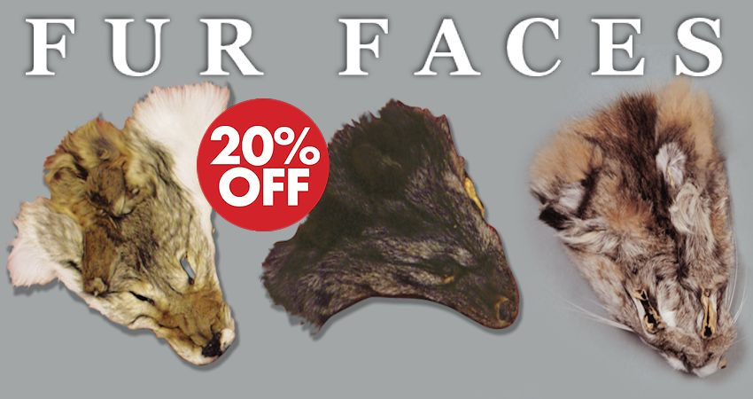 Save 20% on Fur Faces - Crow Calls Saled Ends 4/30/2017