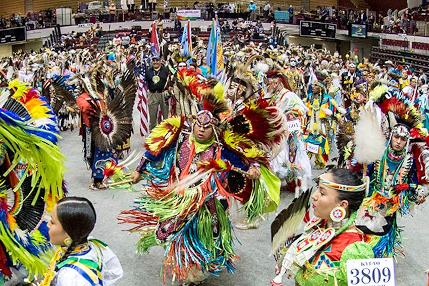 Kyiyo Pow Wow - Kyiyo Native American Student Association - Adams Center in Missoula, Montana