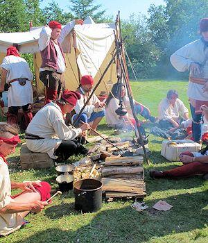 Grand Portage Minnesota Voyageur Rendezvous