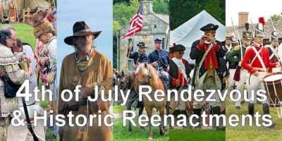 Fourth of July Rendezvous & Historic Reenactment Event Calendar from Crazy Crow Trading Post