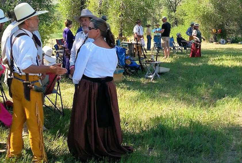 Sierra Madre Muzzleloaders Mountain Man Rendezvous and Black Powder Shoot - Grand Encampment Museum Grounds