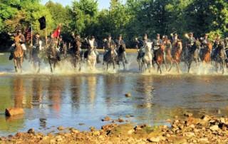 Zoar Civil War Reenactment - Zoar Community Association - Historic Zoar Village - 105th Pennsylvania Company E