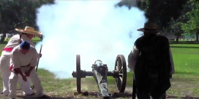 Mexican American War Reenactments and Encampmenets