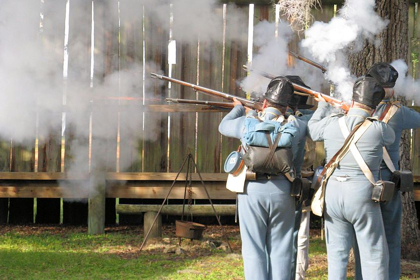 Fort Christmas Spring Militia Encampment | Fort Christmas Historic ...