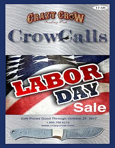 Crow Calls September - October Sale