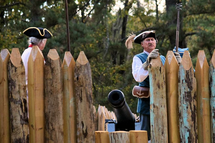 Fort Toulouse French and Indian War Encampment - Fort Toulouse-Jackson National Historic Park - Friends of the Forts