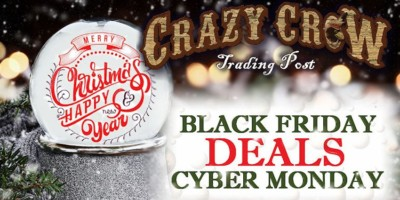 Black Friday Cyber Monday Crazy Crow eNews 2017