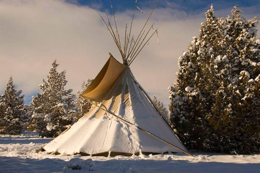 Horse Ridge Rendezvous - Cowgirl Hideout Ranch - Grizzly Mountain Long Rifles - Horse Ridge Rendezvous Site - Johnson Ranch Road