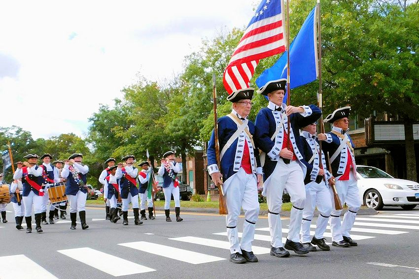 Windsor Fife and Drum Corps Muster - Windsor Fife and Drum Corps - Windsor Town Green